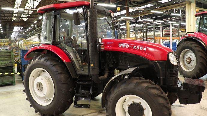 Tracteur Yto fabriqué en chine, les futurs tracteurs seront européens (©TNC)