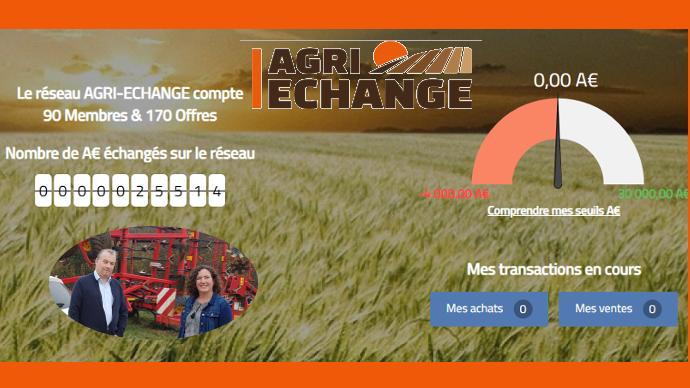 Jean-Michel et Catherine Rabier ont fondé la plateforme Agri-Echange pour réduire les charges de mécanisation des exploitations agricoles et les rendre plus compétitives face à la mondialisation. (©TNC)