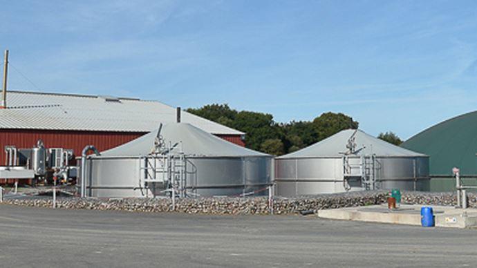 Avec le rachat de Methaneo, Evergaz compte dorénavant 14 centrales de méthanisation en France, Allemagne et Belgique. (©Evergaz)