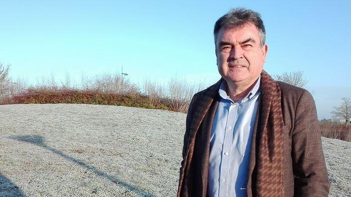 Nicolas Jacquet, président de France grandes cultures, nouveau nom de l'OPG, la section spécialisée de la Coordination rurale, lors du congrès de l'organisation jeudi 10 janvier 2019. (©France grandes cultures)