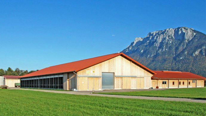 L'intégration des bâtiments agricoles au paysage est de plus en plus importante pour le grand public. (©Wolf System GMBH)