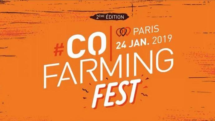 Le #Cofarmingfest revient à Paris pour sa deuxième édition jeudi 24 janvier 2019. (©#Cofarming)