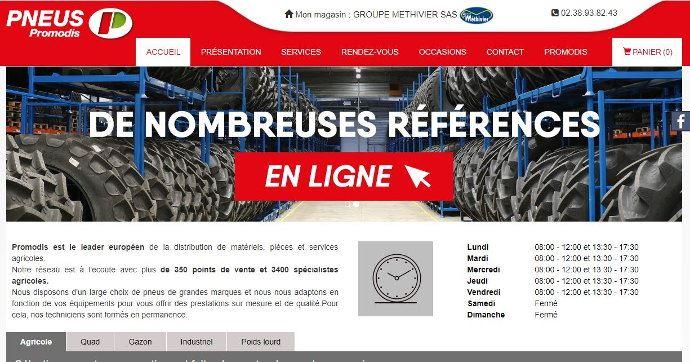 Promodis se lance dans le e-commerce des pneumatiques. (©TNC)