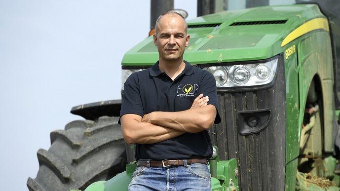 Arnaud Rousseau est producteur de grandes cultures à Trocy-en-Multien. Il est président de la Fop, section spécialisée de la FNSEA rassemblant les producteurs d'oléoprotéagineux, et président du groupe Avril. (©Philippe Montigny)