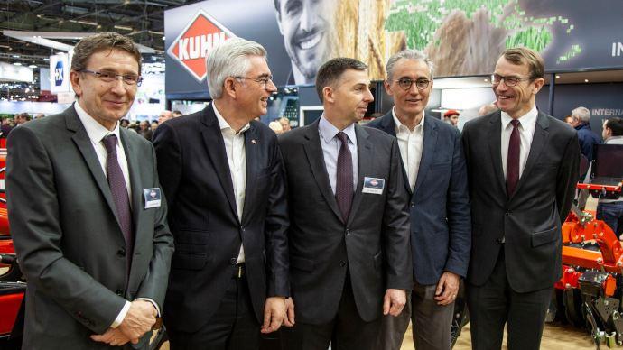 Le groupe Kuhn rejoint Massey-Ferguson et Michelin dans la Chaire Agro-Machinisme. (©Kuhn)