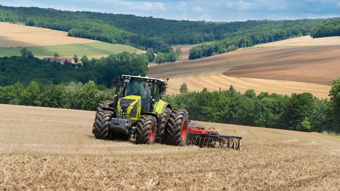 Le marché français des agroéquipements neufs devrait poursuivre sa progression en 2019 selon l'Axema. (©Claas)