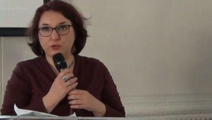 Laurence Lyonnais, numéro 11 sur la liste La France insoumise pour les élections européennes, a détaillé le programme agricole du mouvement de Jean-LucMélenchon lors d'un événement organisé par le Syrpa mi-avril 2019 (©TNC)