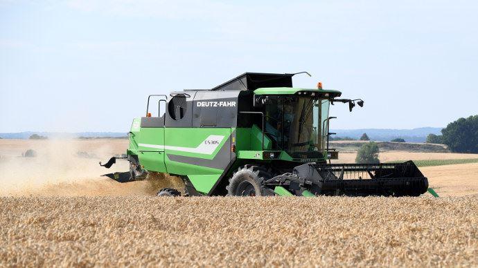 Deutz-Fahr C5305, une machine cinq secoueurs au prix abordable. (©Deutz-Fahr)