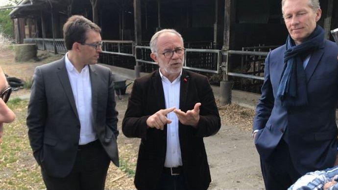 Éric Andrieu, eurodéputé SD sortant et candidat sur la liste d'alliance PS-Place publique aux élections européennes du 26 mai 2019. (©@EricAndrieuEU)