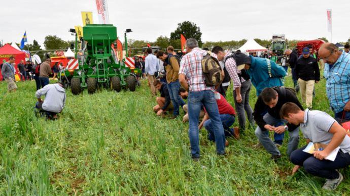 Le village agro-écologie d'Innov-agri 2019 gagne du terrain avec ses 2,5ha. (©GFA Events)