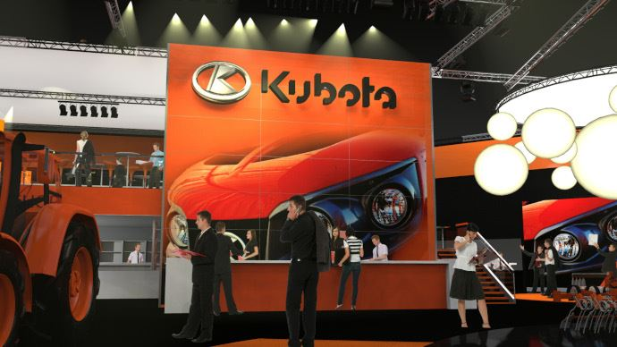 Kubota ouvre deux centres d'innovation, en Europe et au Japon, pour développer son activité agricole. (©Kubota)