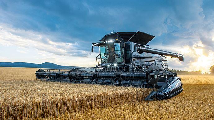L'Ideal de Massey Ferguson a reçu la distinction Platine au A'Design Award dans la catégorie design agricole. (©Massey Ferguson)