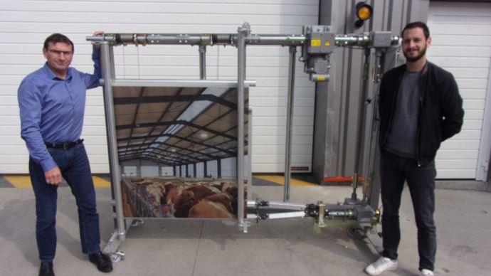 Le rideau Limousin bénéficie de deux toiles séparées de 5 cm pour créer un matelas d'air isolant. (©TNC)