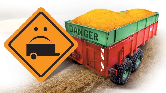 Pour éviter la surcharge, mieux vaut connaître les règles liées aux charges sur la route. (©TNC)