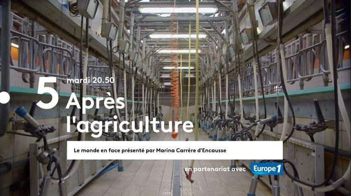 Claire, Guillaume, Odile et Stéphane ont renoncé à leur métier d'agriculteur-agricultrice. Découvrez leurs témoignages demain soir sur France 5. (©Page Facebook France.tv studio)
