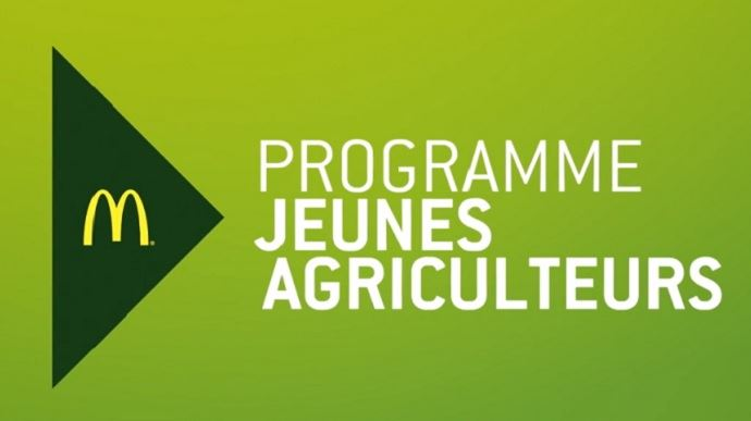 Le programme jeunes agriculteurs de McDo est aussi l'occasion pour les jeunes producteurs de partager leur expérience et d'élargir leur réseau professionnel.(©McDonald's)