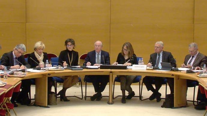 En février 2019, les sénateurs de la commission européenne et ceux de la commission économique, parmi eux Daniel Gremillet (à gauche), et les présidents des commissions Jean Bizet et Sophie Primas (au centre) s'étaient déjà alarmés de la proposition de la Commission européenne. (©TNC)