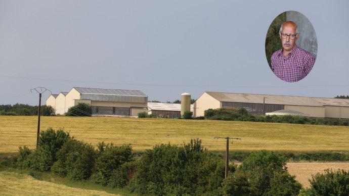 Le séchoir en grange photovoltaïque de Jean-François Maquigny entame sa deuxième saison. (©TNC)