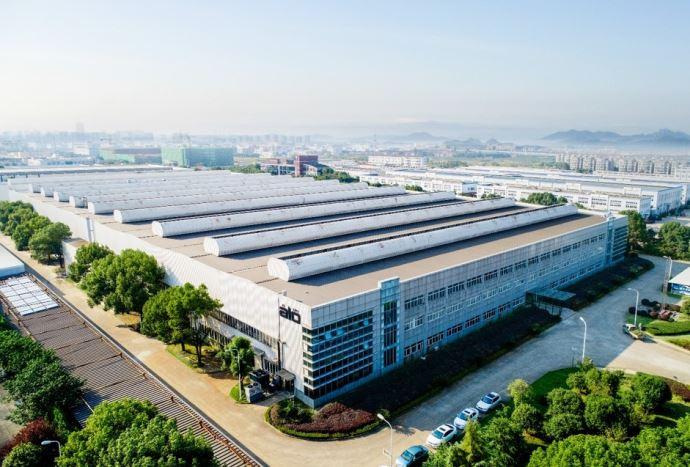 L'usine de Alö à Ningbo en Chine permet au fabricant de doubler sa capacité de production d'outils. (©Alö)