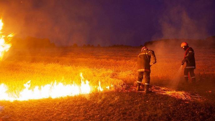 Des milliers d'hectares ont été ravagés par les incendies dans la moitié nord de France à cause de la canicule et de la sécheresse cumulées. (©Sapeurs-pompiers de l'Oise/Aurélien Dheilly)