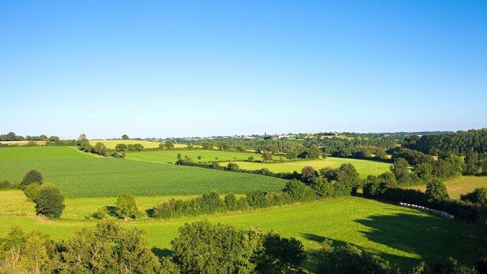 Retrouvez tous les prix du foncier agricole 2018 en région Normandie.(©Thierry Rio/Fotolia)