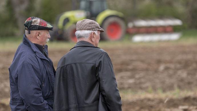 Tous les syndicats agricoles s'accordent sur au moins un point: la nécessaire revalorisation des retraites agricoles. (©TNC)