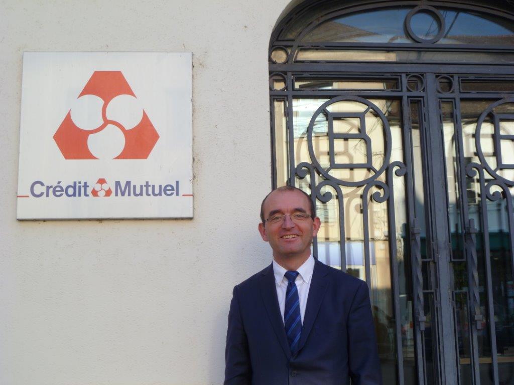 Luc Barizet, chargé d'affaires agricoles Crédit Mutuel Île-de-France (©Crédit Mutuel)