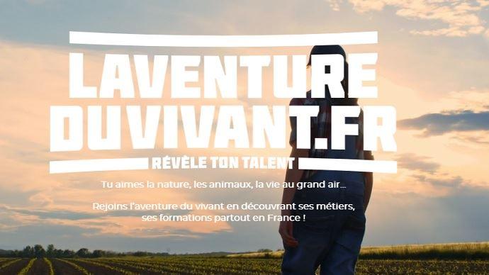 Le site laventureduvivant.fr vise à promouvoir les multiples métiers du secteur agricole, de façon moderne et ludique, auprès des collégiens, lycéens et étudiants. (©Ministère de l'agriculture)