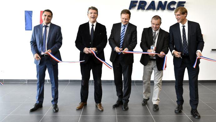 Argo France inaugure son siège social installé à Vaulx-Milieu (Isère) près de Lyon. (©Argo Tractors)