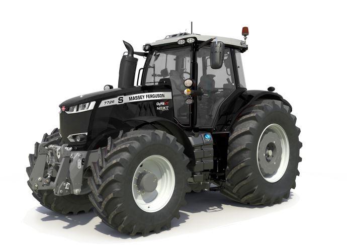 La version Next Edition du 7726S est disponible en couleur noire en option. (©Massey Ferguson)