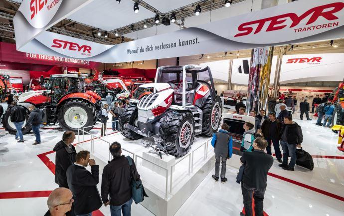 Le moteur FPT hybride sera la première application mise en place dans les tracteurs du groupe CNH. (©Steyr)