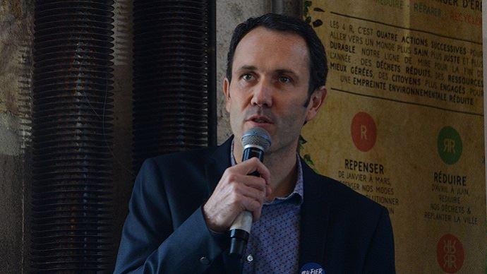Ludovic Brindejonc, directeur général d'Agri-éthique, lors des rencontres organisées par le label le 21 novembre (©TNC)