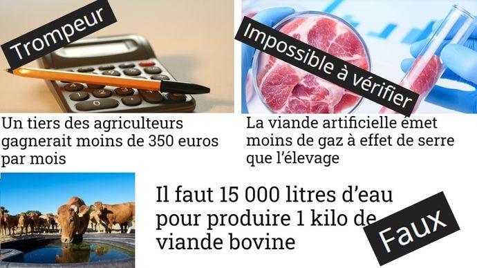 DecodAgriapporte des faits à la véracité établie face aux vagues de désinformation auxquelles l'agriculture française fait face. (©Montage TNC)