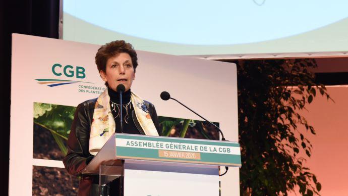 Isabelle Chmitelin, directrice de cabinet du ministre de l'agriculture. (©TNC)