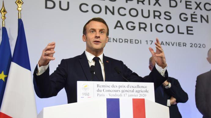 Le président de la République célébrant les vertus de l'agriculture française, à l'occasion des 150 ans du Concours général agricole (©TNC)