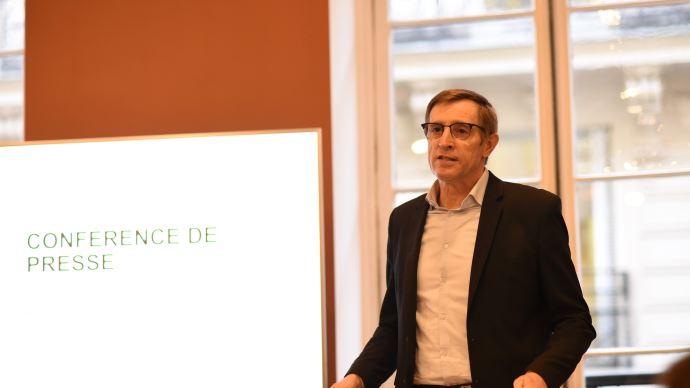 Dominique Chargé, président de la Coopération agricole, dresse le bilan de 2019 et évoque les objectifs de l'organisation (©TNC)
