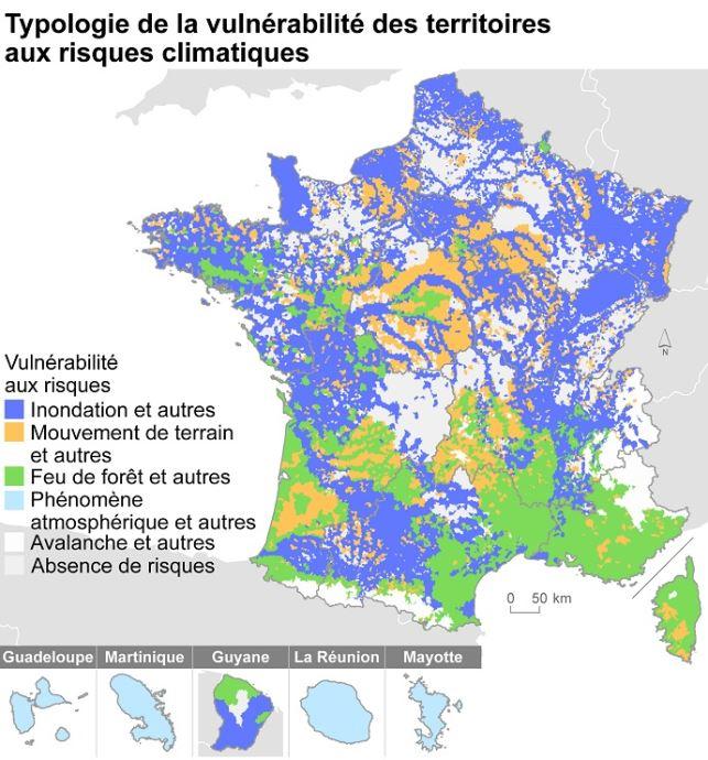 64 % des communes françaises exposées aux inondations ...