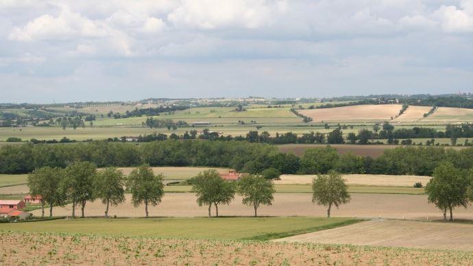 Grâce à l'achat différé de foncier, «l'élevage de Romain Louzaouen maîtrise désormais son plan d'épandage et est devenu autonome à 80% pour l'alimentation de ses animaux», explique le Conseil régional de Bretagne. (©TNC)