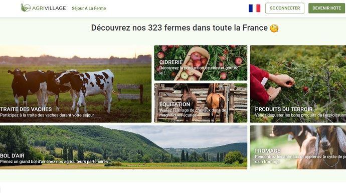 «Notre mission est de transformer votre séjour en une expérience qui vous fera (re)découvrir la campagne, les agriculteurset leur quotidien», peut-on également lire sur lapage Facebook AgriVillage. (©Agrivillage)