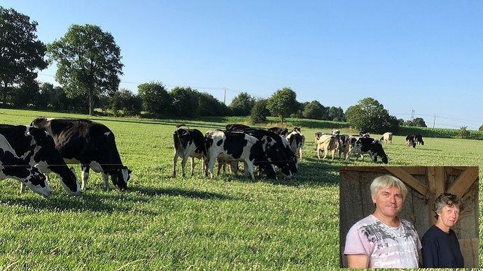 «Dès que ma femme partira à la retraite, je ne veux pas être présent sur la ferme plus d'une semaine sur deux», prévient l'éleveur. (©Franck Houssais)