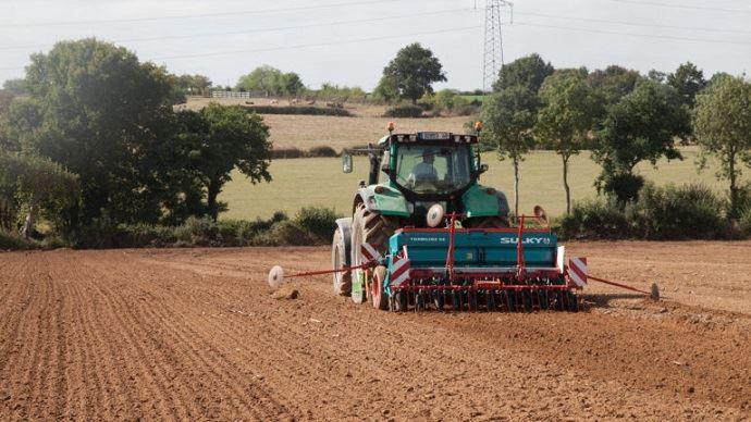 Le type de sol, les contraintes climatiques, l'utilisation et la période d'utilisation conditionnent le choix des semences pour l'implantation d'une prairie. (©Gnis-Sébastien Champion)