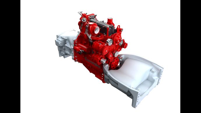 Les deux moteurs quatre cylindres Cummins F3.8 et F4.5 offrent de 90 à 200ch de puissance. (©Cummins)