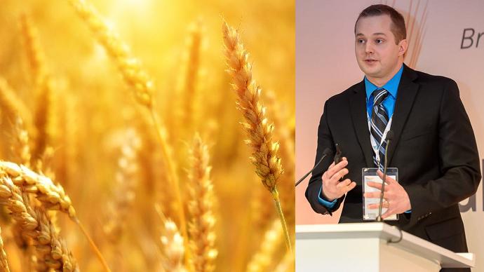 Isaac Hankes parlant du réchauffement climatique au Paris Grain Day 2020. (©Pixabay/Paris Grain Day)
