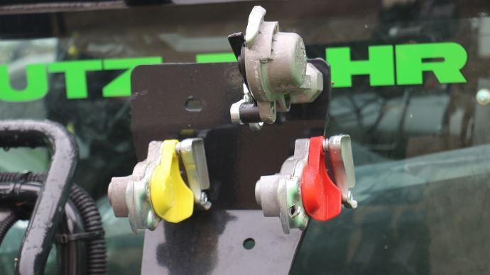 Le choix du système de freinage, hydraulique ou pneumatique, est primordial avant d'investir dans du matériel. (©TNC)