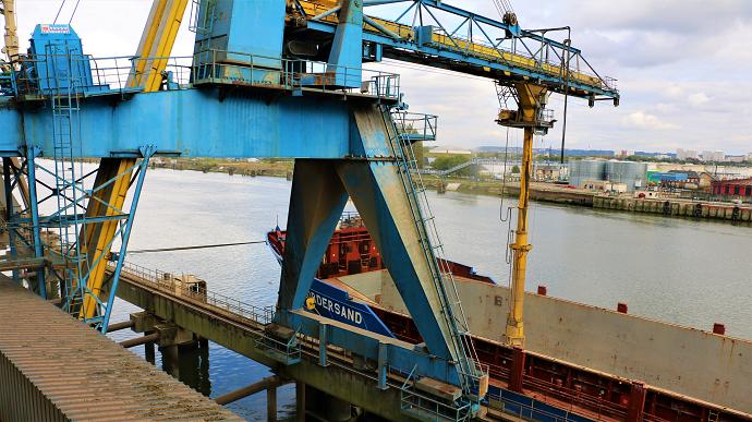 Des problèmes logistiques perturbent le transport des céréales. (©TNC)