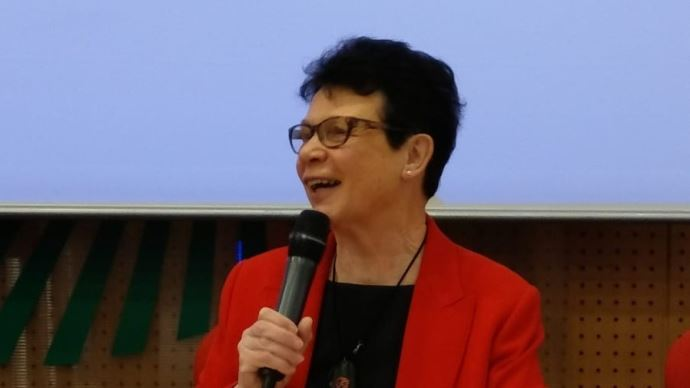 Josiane Béliard, présidente de la SNPR, le 13 mars 2020. (©SNPR)