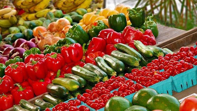 Près de la moitié des fruits et des légumes consommés en France sont importés.(©Pixabay)