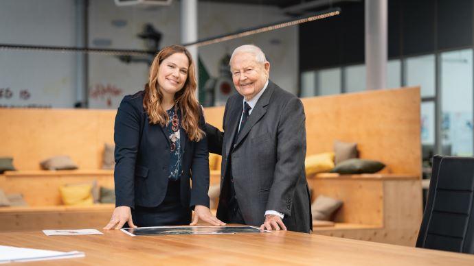 Cathrina Claas-Mülhauser succède à son père Helmut à la présidence du comité des actionnaires. (©Claas)