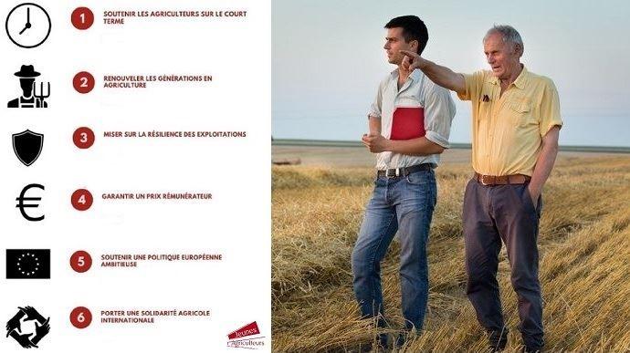 Le plan d'action de Jeunes Agriculteurs pour l'après crise du covid-19 comprend des propositions pour les court et long termes. (©Jeunes Agriculteurs, Budimir Jevtic Fotolia // Création TNC)