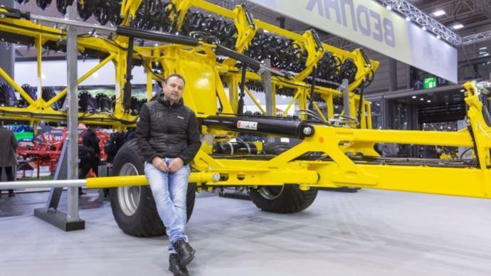 Jan Bednár dirige la société Bednar et vient de passer la barre des 2 milliards de couronnes tchèques de chiffre d'affaires. (©Bednar)